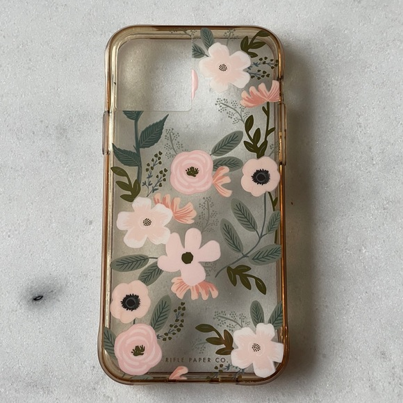 iPhone 11Pro Rifle Paper Co. Clear Wildflower Case